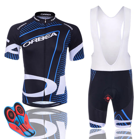Fabric Short Sleeves Cycling Sets