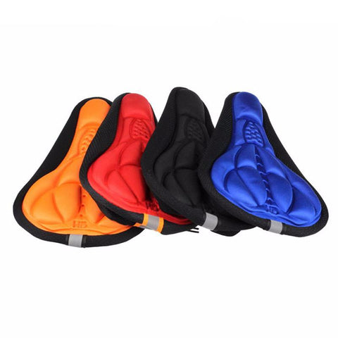 Bike 3D Silicone Gel Pad Seat Cover