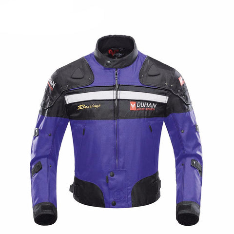Moto Jackets With Five Protector Guards