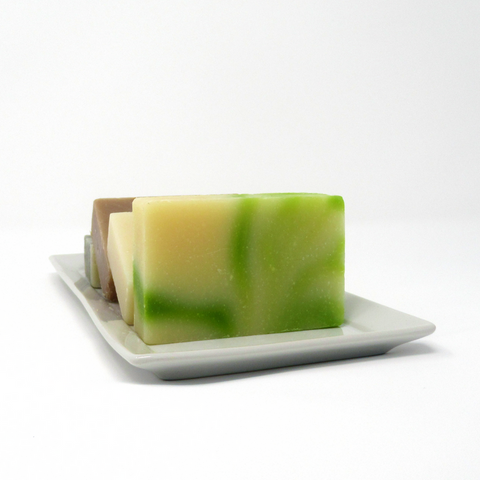 Handmade Natural Cold Processed Soap Bar - Cool Fresh Aloe