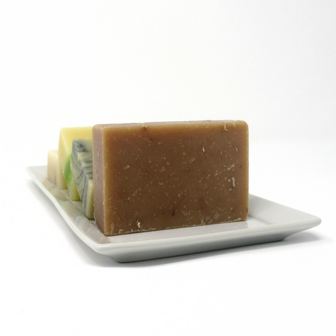 Handmade Natural Cold Processed Soap Bar - Oatmeal Milk & Honey