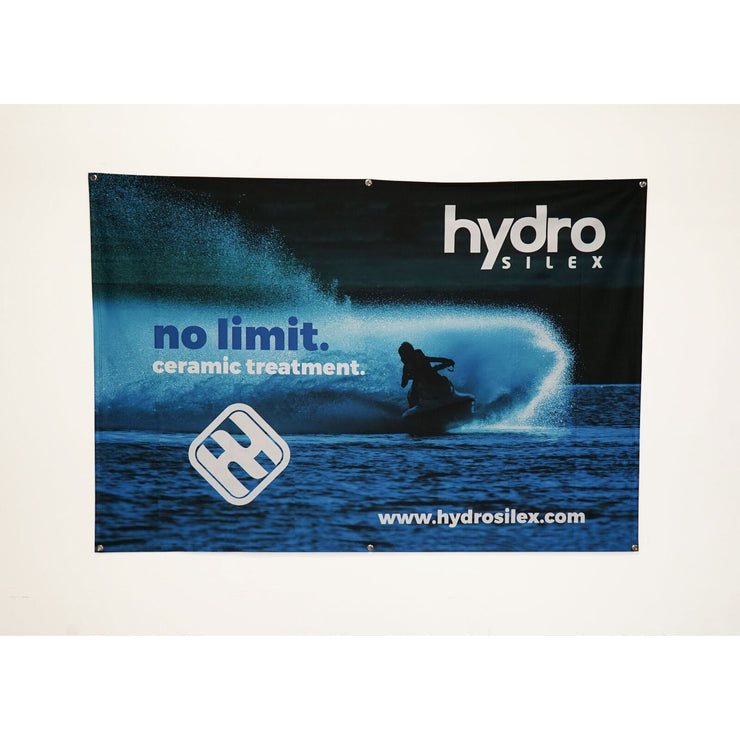 HydroSilex Banner, Blue - HydroSilex Ceramic Coatings