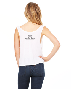 Tantra Tee Boxy Crop - Self Love