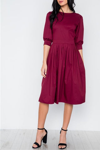 The Perfectly Pleated Dress