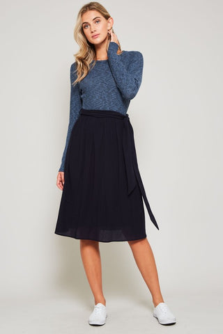 The Two Tone Blues Dress