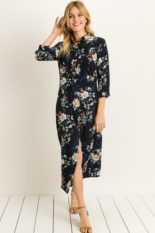 The Floral Nightlife Dress