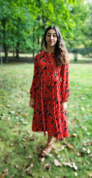 The Scarlet Maxi Dress