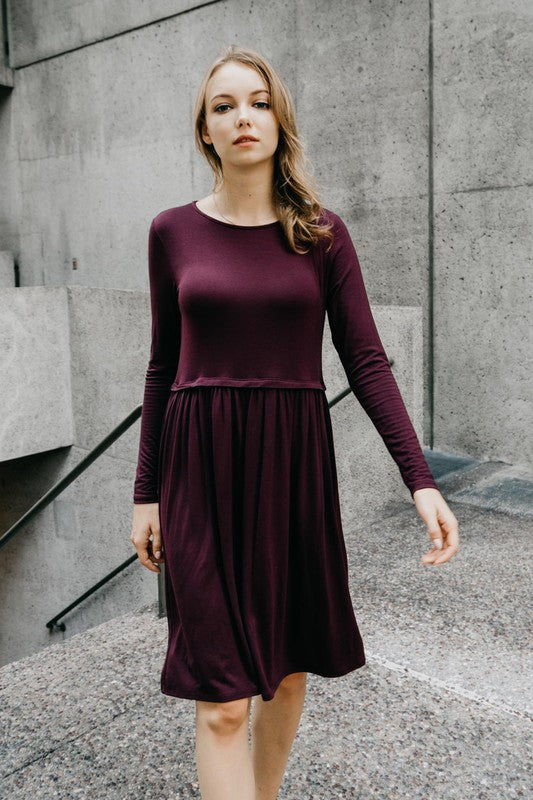 The Solid Ruby Dress