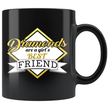 Diamonds Are A Girl's Best Friend 11oz Mug - TealGifts.com