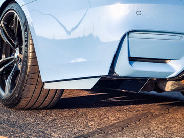 *NEW* BWE F8X Rear Bumper Fins