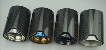 Carbon Fiber Exhaust tips F8X style