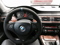 Alcantara steering wheel trim cover