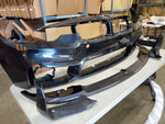 Carbon fiber lip and splitter for F8X style M3/M4 bumper