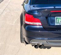 BWE E8X 1 series Rear bumper extension