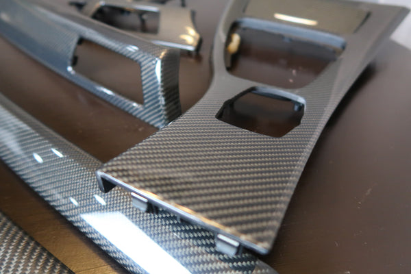 Carbon Fiber interior trim