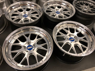 BBS LM-R 3 Piece custom spec wheels
