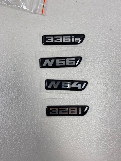 335i Fender badge