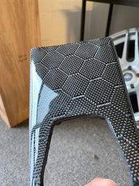 Honeycomb Carbon Fiber interior trim