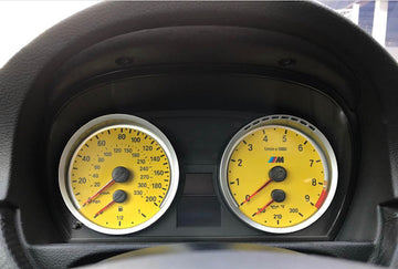 Colored Gauge Cluster Overlay