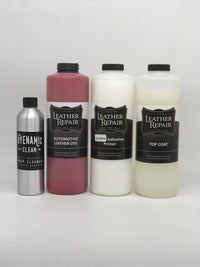 Leather dye kits
