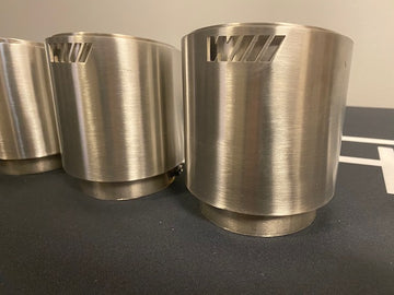 Stainless Steel ///M Exhaust tips