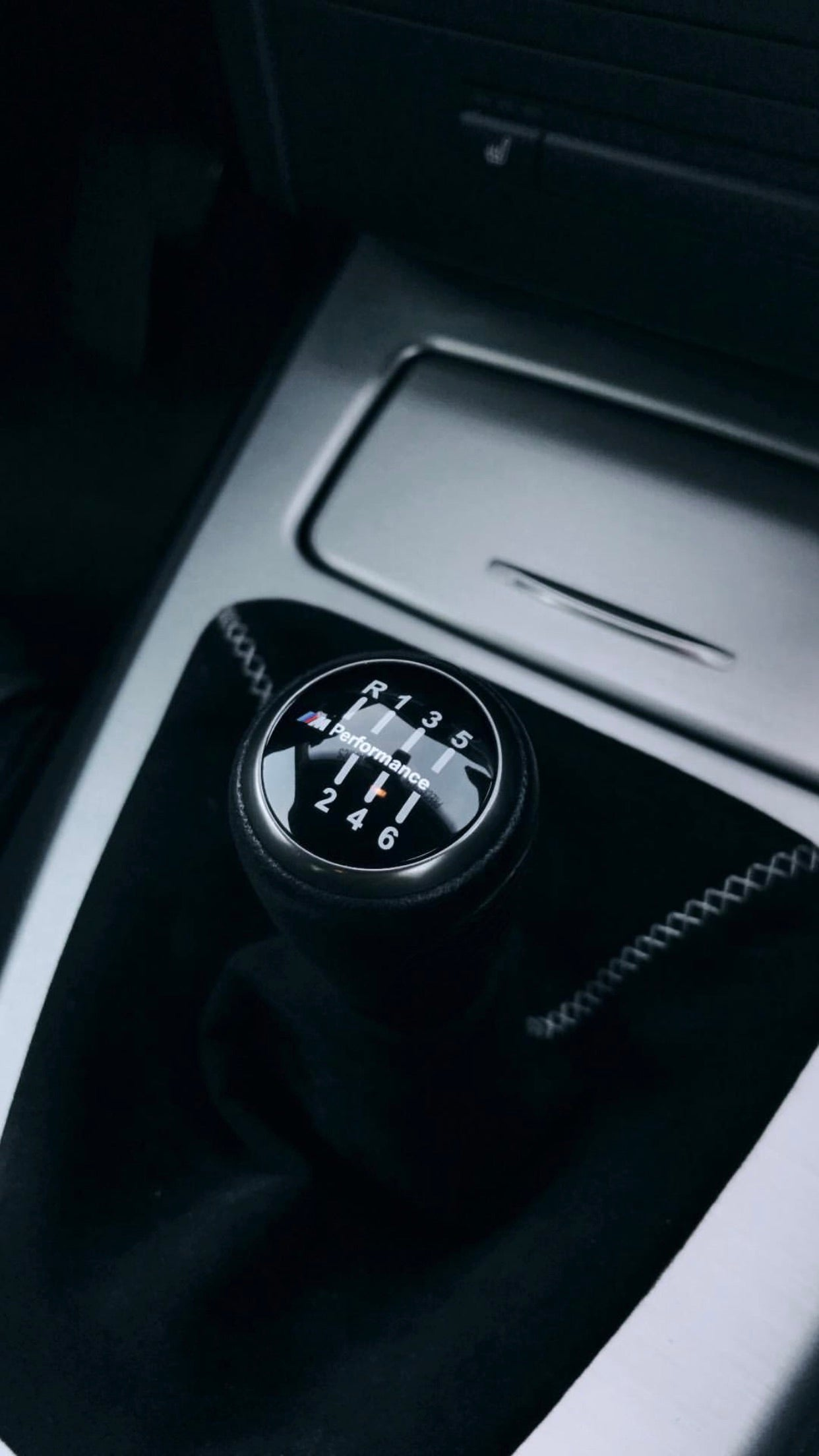 Carbon fiber Alcantara Manual shift knob