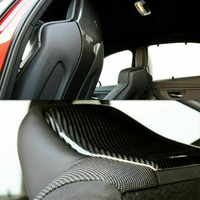 F8X Carbon fiber Seat back trim