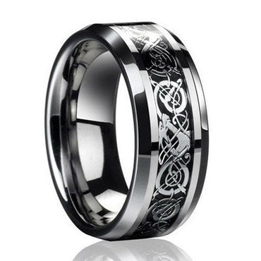 Dragon's Breath Steel Ring