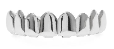 Hip-Hop Gold Finish Grills Set