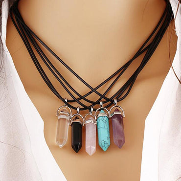 Fashion Chakra Choker Pendant & Necklace