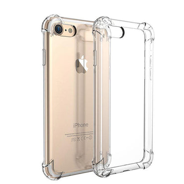 Shockproof Transparent Case - iPhone 7 to iPhone X