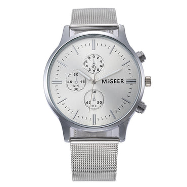 Classic Taylor Stainless Steel Watch