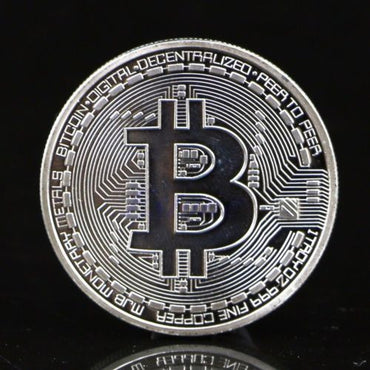 Collectible Gold Plated Bitcoin