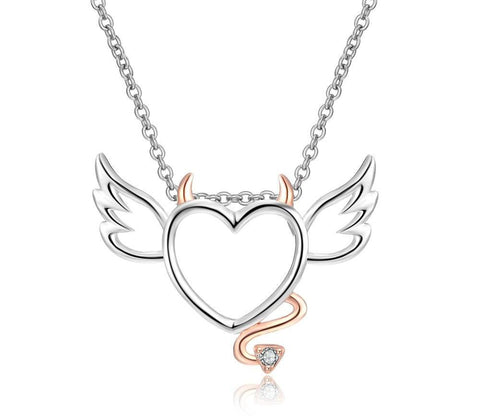 Winged Devil Necklace