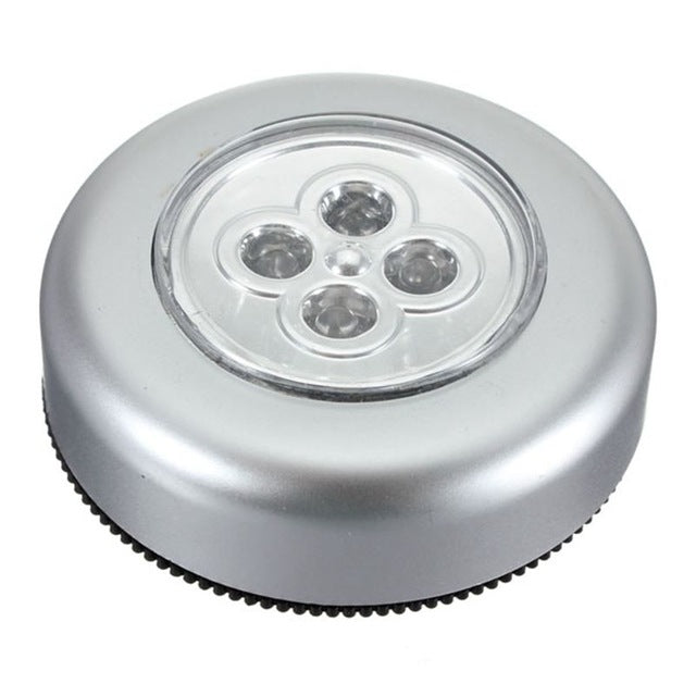 Wheels Mini Cordless LED Night Light