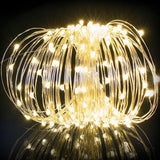 20M Solar Powered Copper Wire 200 LED String Light