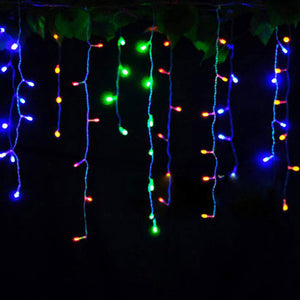 Connectable 3.5M LED Curtain Icicle String Lights