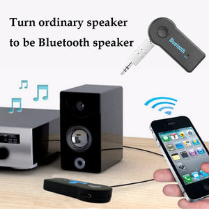 FORNORM Universal 3.5mm AUX Bluetooth Audio Receiver