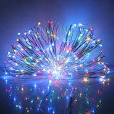Bendable 50 LED String Copper Wire Fairy Lights
