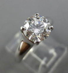 ESTATE GIA TIFFANY & CO 1.53CT DIAMOND PLATINUM CLASSIC ENGAGEMENT RING #25513