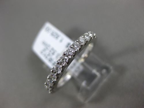 ESTATE 1.06CT DIAMOND 18KT WHITE GOLD 3D SEMI MOUNT ENGAGEMENT WEDDING RING SET