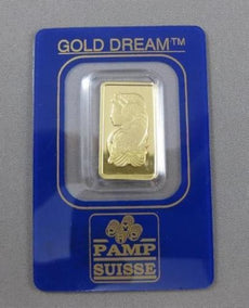 24KT YELLOW GOLD 2.5 GRAM GOLD DREAM PAMP SUISSE COIN PERFECT GIFT!!!! #21502