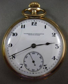 ANTIQUE VACHERON & CONSTANTIN GENEVE - SUISS 14KT YELLOW GOLD POCKET WATCH #2689