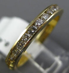 ESTATE .46CT DIAMOND 14KT YELLOW GOLD CLASSIC FILIGREE WEDDING ANNIVERSARY RING