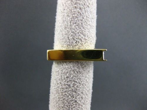 ANTIQUE .70CT DIAMOND 18KT WHITE & YELLOW GOLD SQUARE DESIGN FUN RING #3730