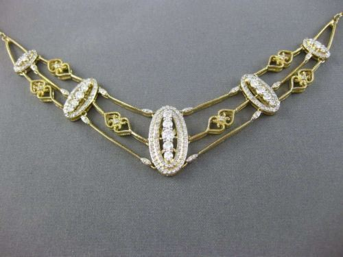 LARGE 1.50CT ROUND DIAMOND 14KT YELLOW GOLD HEART HALO FILIGREE NECKLACE