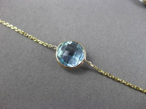 ANTIQUE 14.40CTW AAA MULTI COLOR GEM BY THE YARD 14K YELLOW GOLD LARIAT NECKLACE