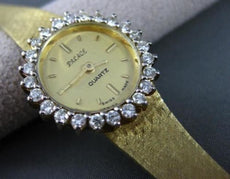 ESTATE .80CT ROUND DIAMOND 14KT YELLOW GOLD PALACE SWISS WATCH BEAUTIFUL! #22617