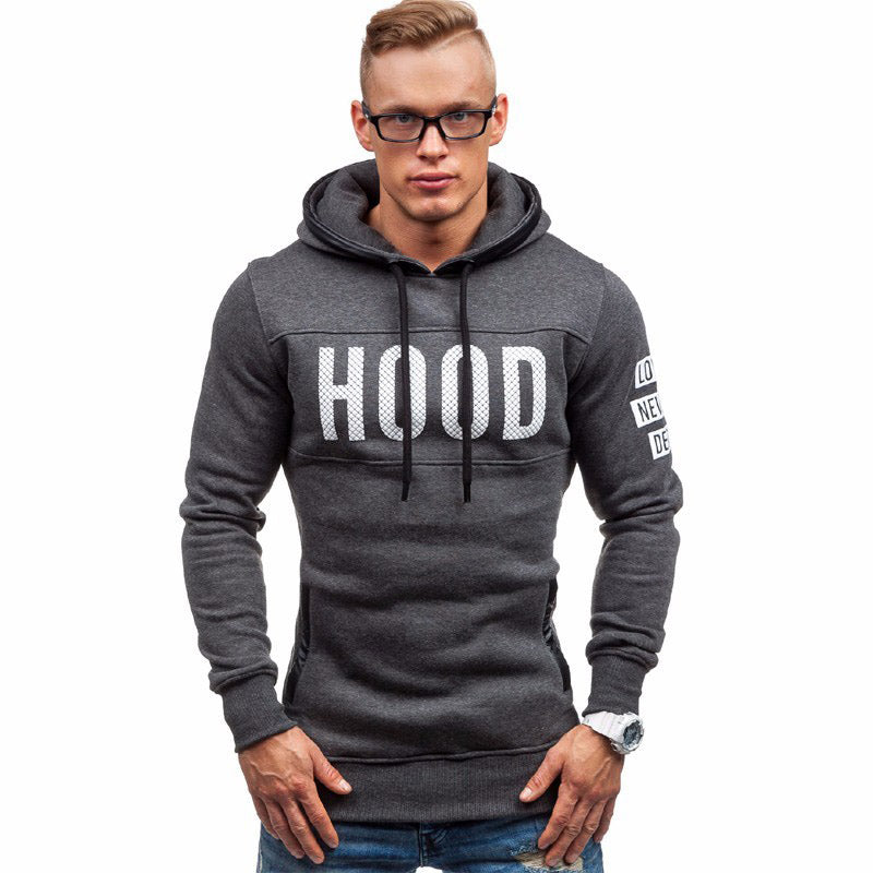 In the Hood Men's Sporty Hooded Sweatshirt