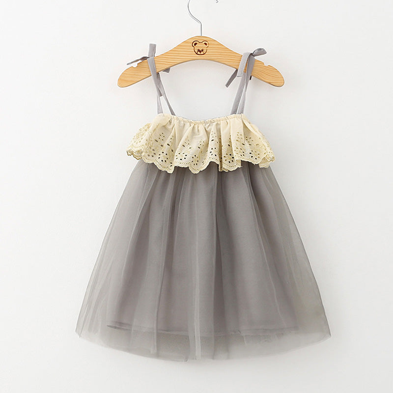 Mesh Dress For Toddler Vintage Tutu Kids